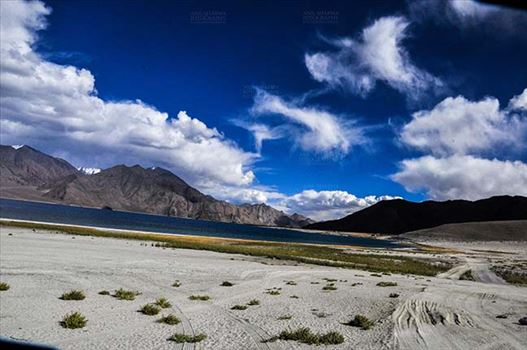 Clouds- Sky with Clouds (Pangong Tso) by Anil Sharma Fotography