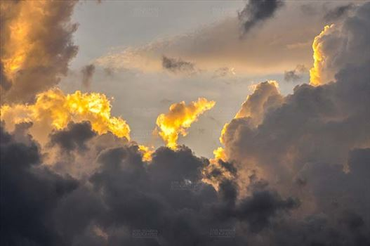 Clouds- Sky with Clouds (Uttarkashi) by Anil