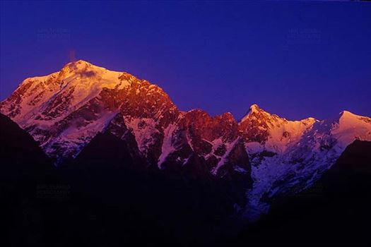 Mountains- Kinnaur Kailash (India) by Anil Sharma Fotography