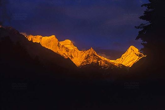 Mountains- Sudarshan Peak (India) by Anil Sharma Fotography