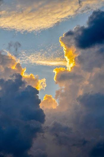 Nature- Sky with Clouds (Uttarkashi) by Anil