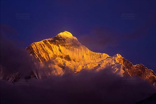 Mountains-  Nanda Devi East (India) by Anil Sharma Fotography