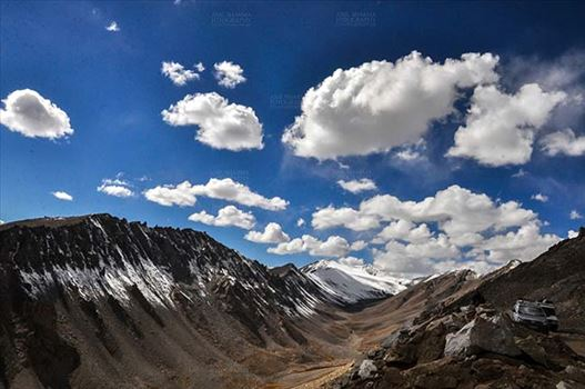Clouds- Sky with Clouds (Khardung La) by Anil Sharma Fotography