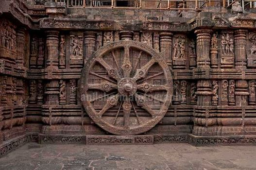 Konark Sun Temple is one of the grandest Temple of India at Bhubaneswar, Orissa, India.