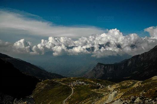 Clouds- Sky with Clouds (Rohtang La) by Anil Sharma Fotography