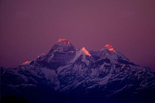 Mountains- Nanda Devi Peak (India) by Anil Sharma Fotography