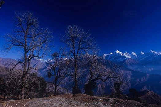 Mountains- Panchuchuli Peaks (India) by Anil Sharma Fotography
