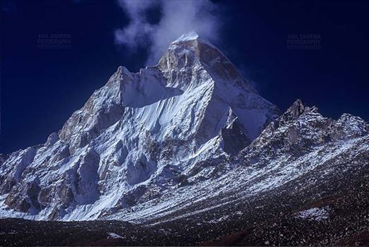 Mountains- Shivling Peak (India) by Anil Sharma Fotography