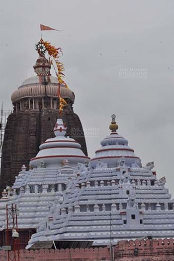Festivals- Jagannath Rath Yatra (Odisha) - Lord Jagannath Temple at Puri, Odisha, India.