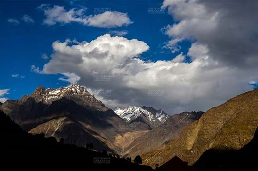 Clouds- Sky with Clouds (Jispa Village) by Anil Sharma Fotography