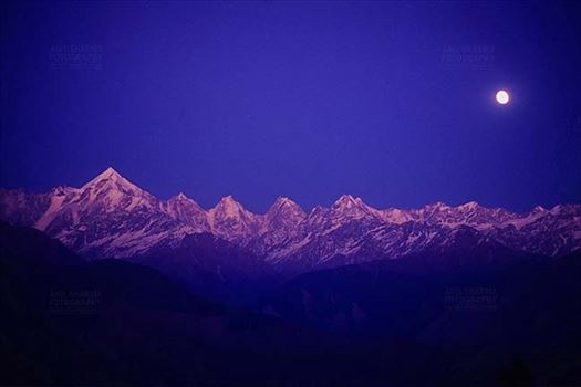 Mountains- Panchchuli Peaks (India) by Anil Sharma Fotography