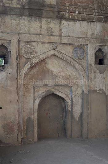 Monuments: Agrasen ki Baoli or Stepwell at New Delhi - At the top of this boali, there is a huge Neem tree and next to it are the ruins of a mosque belong to Tughlaq period.