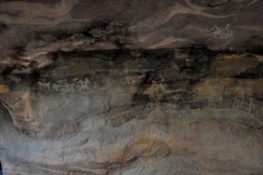 Archaeology- Bhimbetka Rock Shelters (India) by Anil