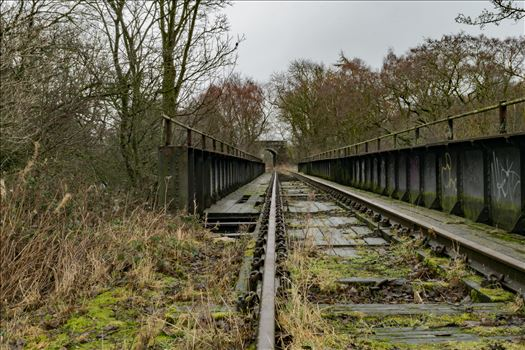 Abandoned Railway Bridge by AJ Stoves Photography