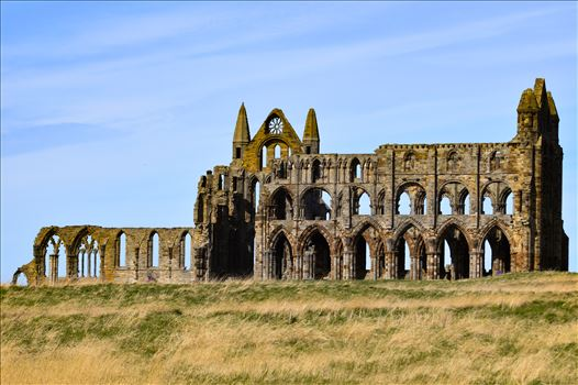 Whitby Abbey - Whitby Abbey on a summers day