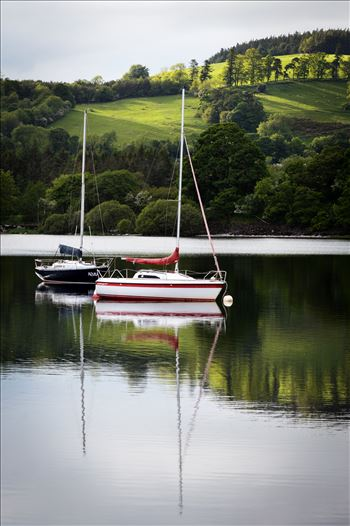 Reflections on Lake Ullswater by AJ Stoves Photography