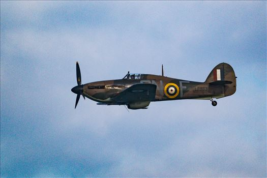RAF Spitfire Fly By by AJ Stoves Photography