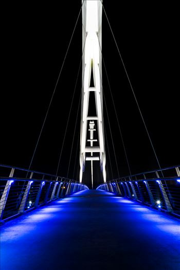 Infinity Bridge at night by AJ.Stoves Photography