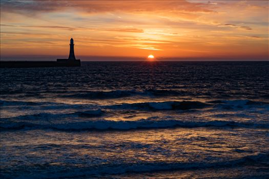 Roker Sunrise by AJ Stoves Photography