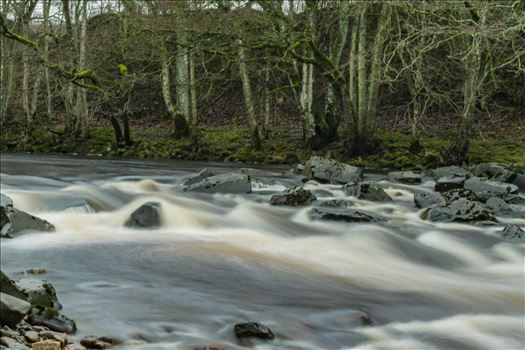 River in Full Flow by AJ Stoves Photography