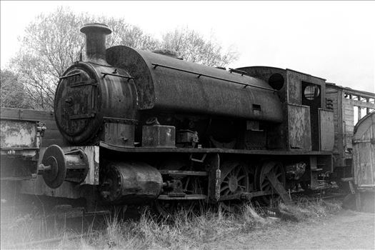 Old Steamer - An old steam train sat rusting away at Tanfield Railway