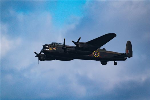 Lancaster Bomber Fly By by AJ Stoves Photography