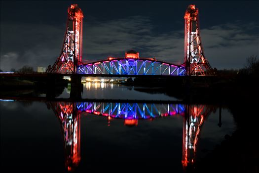 Newport Bridge Middlesbrough by AJ Stoves Photography