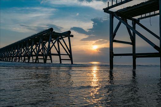 Sunrise Steetley Pier 2 by AJ Stoves Photography