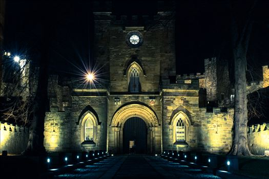 Durham City at Night by AJ Stoves Photography