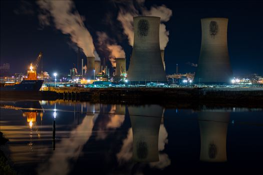 Industrial Reflections by AJ Stoves Photography