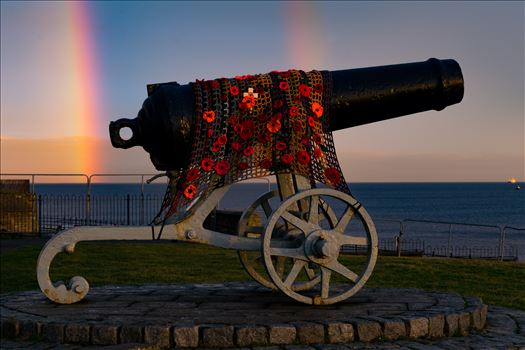 Cannon Double Rainbow by AJ Stoves Photography