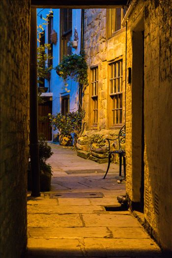 Whitby Side street or alley by AJ Stoves Photography