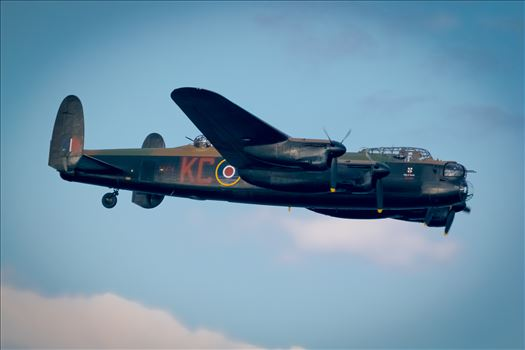 Lancaster Bomber by AJ Stoves Photography