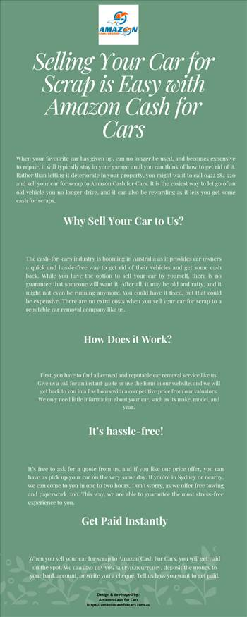 Selling Your Car for Scrap is Easy with Amazon Cash for Cars.png by Amazoncashforcars