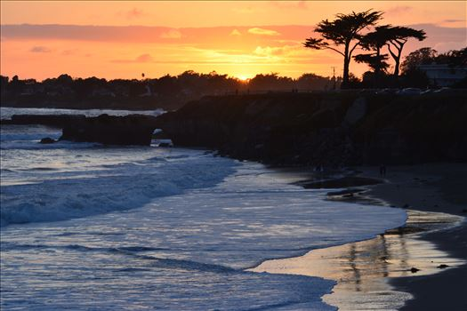 Santa Cruz Sundown by Bridget Oates Photography