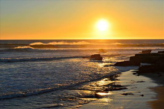 Santa Cruz Surf by Bridget Oates Photography
