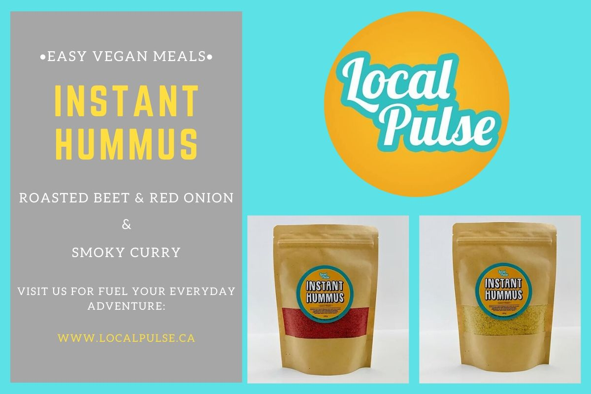 Easy Vegan Meals - localpulse.ca.jpg LocalPulse.ca was established in 2018 with one-goal in mind, to make delicious food that is ready when you. Our food is proudly made in Kamloops, BC. Each product is crafted in small batches in British Columbia, we strive to creates pulse-powered, nutriti by localpulseca
