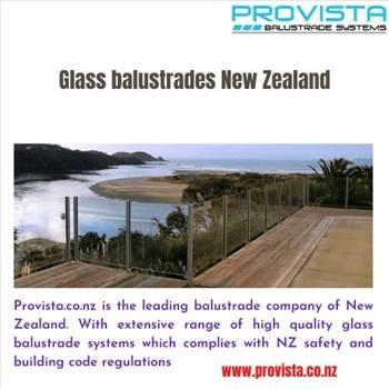 Glass balustrades New Zealand by Provista