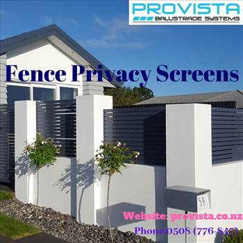 Fence privacy screens.gif by Provista