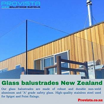 Glass balustrades New Zealand by Provista