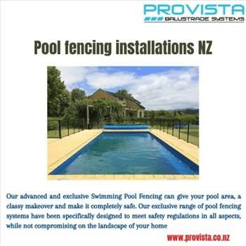 Pool fencing installations NZ by Provista