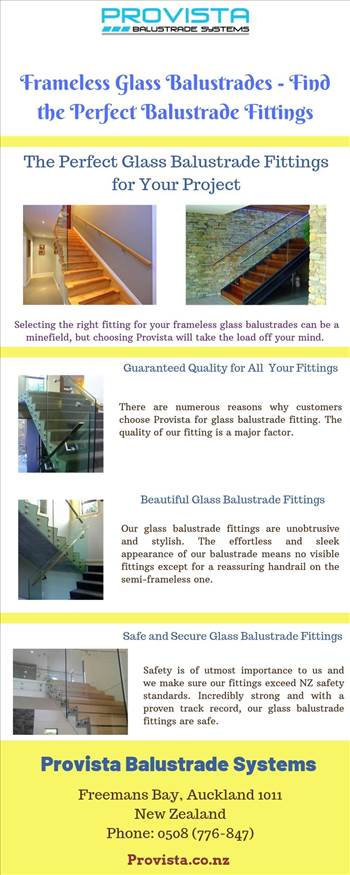 Frameless Glass Balustrades - Find the Perfect Balustrade Fittings by Provista