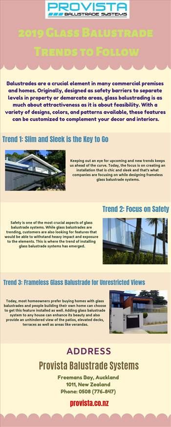 2019 Glass Balustrade Trends to Follow.jpg - Balustrades design trends for modern homes!! Whether you want a seamless subtle finish or a stylish design pattern, glass balustrades have the solutions you need. For more details, visit this link: https://bit.ly/2RSeHs4\r\n