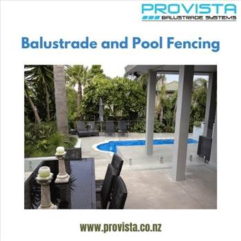 Balustrade and pool fencing by Provista