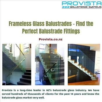 Frameless Glass Balustrades - Find the Perfect Balustrade Fittings - There was a time when people fit their own glass balustrades. But times have changed for the better! For more details, visit: https://bit.ly/2kOKNGy\r\n