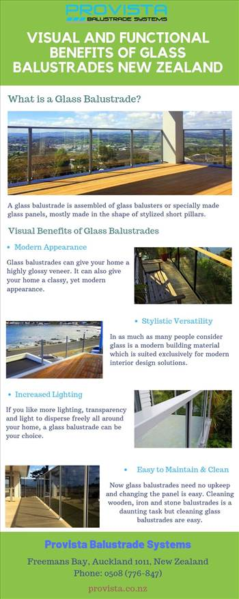 Visual and Functional Benefits of Glass Balustrades New Zealand by Provista