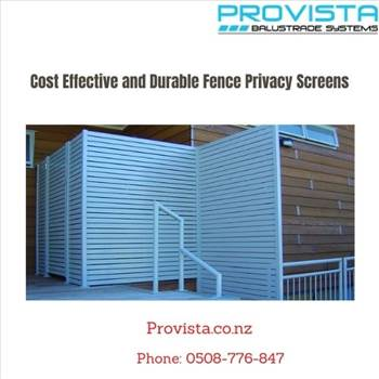 Cost Effective and Durable Fence Privacy Screens by Provista