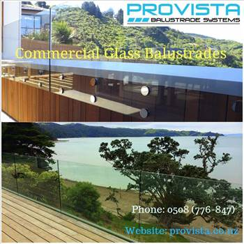 Commercial glass balustrades.gif by Provista