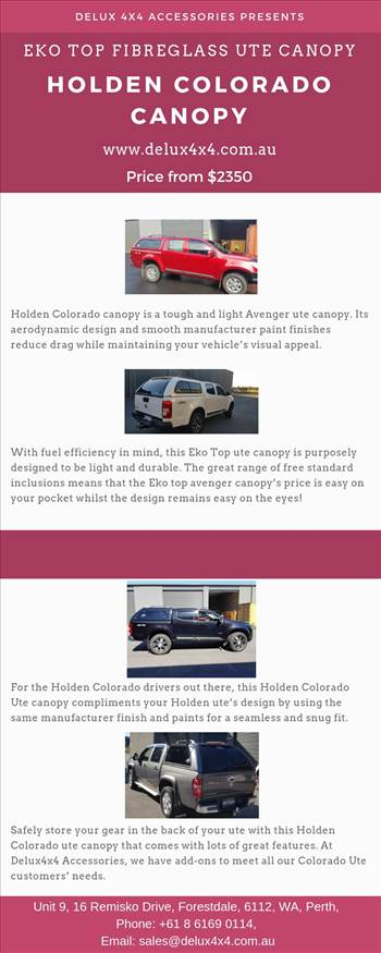 Holden Colorado Canopy.jpg by deluxaccessories