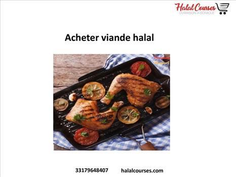 Acheter viande halal by Halal Courses